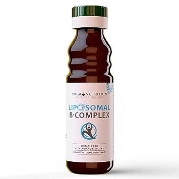 Yoga Nutrition Complejo liposomal de vitamina B, 100 ml Líquido - B1, B2,