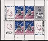 Romania Scott C176 3.20L Apollo 11 Miniature Sheet of 4. Mint never hinged.