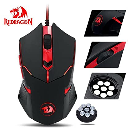 Vandiscar Redragon M601 Gaming Mouse Wired With Red Amazon In