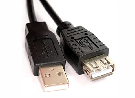 Generic - Cable de extensión USB para impresora para Epson, HP ...