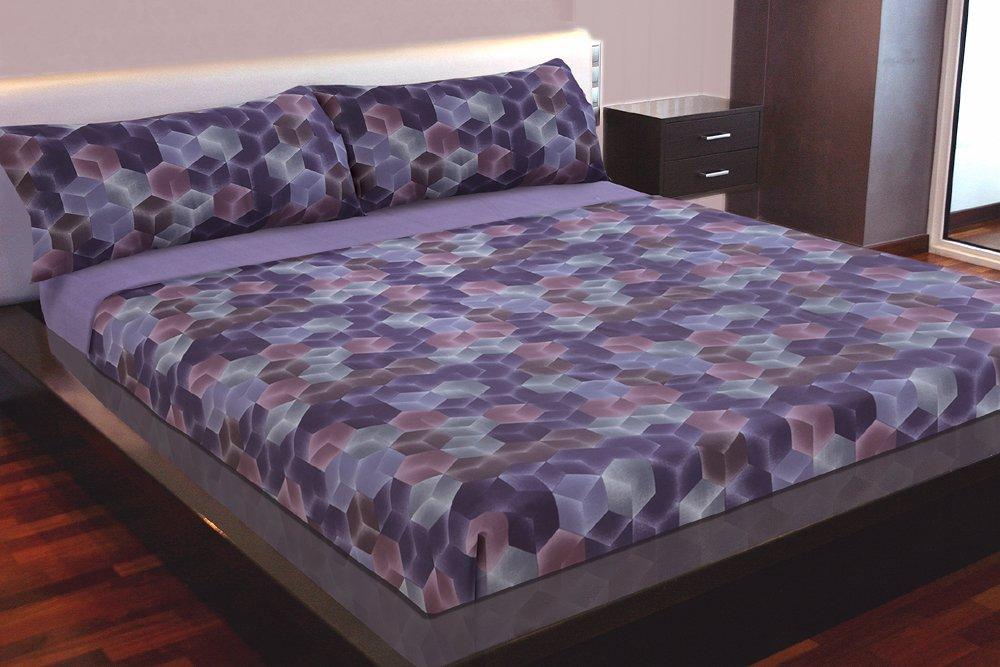 Juego de sábanas estampado VISUALS (para cama de 90x190/200) product image