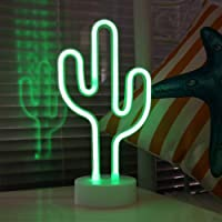 LED Neon Signs, Fantasee Decorative Neon Night Light Battery Operated for Living Room Home Wedding Party Christmas Kids…