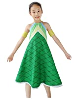 Dazcos Halter Printed Fairy Tail Wendy Marvell Women's Cosplay Dress
