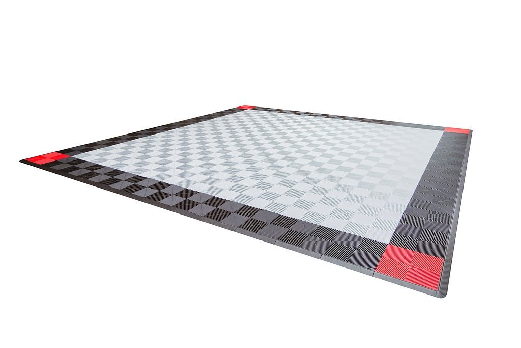 Dodge Double Car Parking Pad by Ribtrax - Pad Design 2