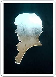 "BreathNenStore Sticker Motion Picture Sherlock Movies Video Film 316681 (3"" x 4"", 3 PCS/Pack)"