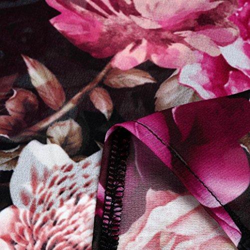 Bk de Luckhome Bolso para Hombro Multicolor Chifón Multicolor Mujer al rznqZxr