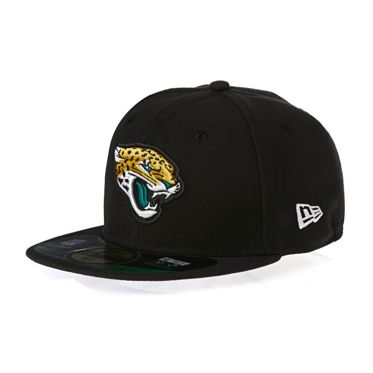 a1dba1bb53b Amazon.com   New Era NFL Jacksonville Jaguars 59Fifty Onfield Black Fitted  Youth Hat   6 3 8   Clothing