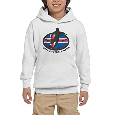 2018 Football Game Iceland Youth Unisex Hoodies Print Pullover Sweatshirts