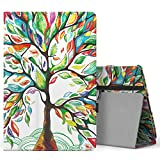 MoKo Ellipsis 10 HD Case 2017 Release - Slim Folding Stand Cover with Auto Sleep / Wake Function for 10-Inch Verizon Ellipsis 10 HD (QTAXIA1) Tablet, Lucky TREE