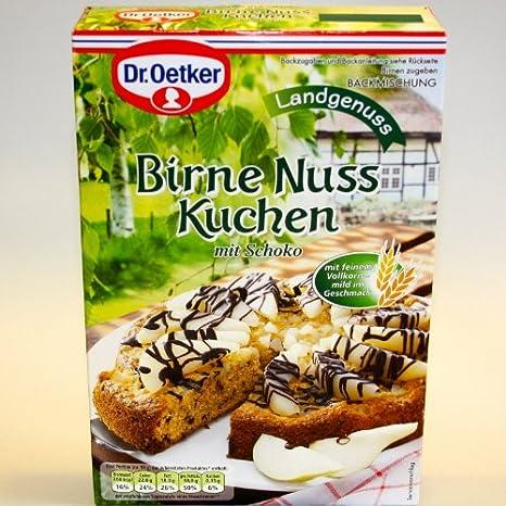 Dr Oetker Dr Oetker Birne Nuss Kuchen 435g Amazon De Lebensmittel
