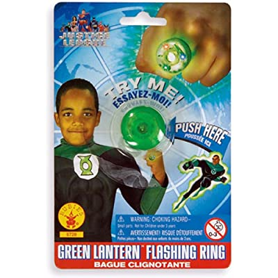 Rubie's Costume Co Green Lantern Ring Costume: Toys & Games
