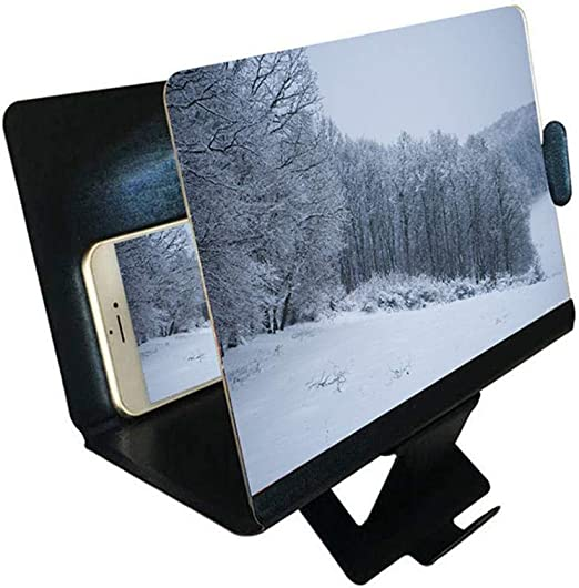 Lupa de Pantalla 3D para Smartphone de 8 Pulgadas con Protector de ...