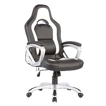 Amazon Com Murtisol Ergonomic Massage Gaming Chair Leather