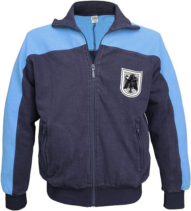 Militär b - Chaqueta de chándal del ejército (usada), Color Azul ...