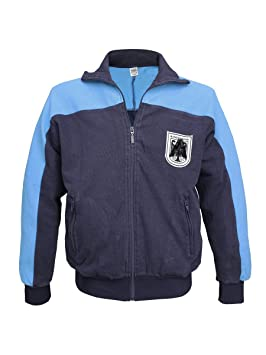 Militär b - Chaqueta de chándal del ejército (usada), color azul: Amazon.es: Deportes y aire libre