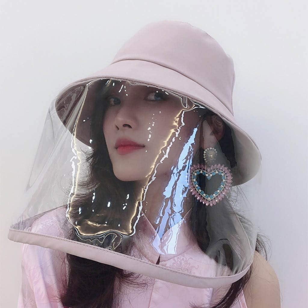 Protectores Faciales De Seguridad Gorra Protectora Antiproyecci/ón A Prueba De Salpicaduras Cubierta A Prueba De Polvo Gorra De Pescador Desmontable De Doble Uso,antideslizante Para Exteriores