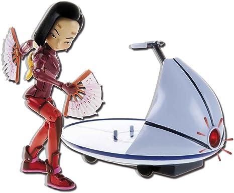 Figura Ulrich de 15 cm C/ódigo Lyoko con Espadas Simba 3089007