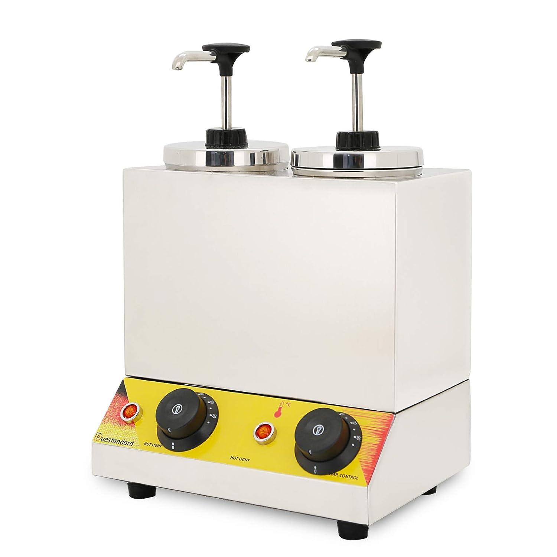 Hanchen ジャム加熱ポンプ しぼり出す 0~100℃温める ダブルポンプ 家庭用 業務用 (220V) 220V ダブルポンプ B07MXCM1RR