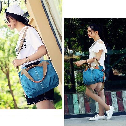 Amazon.com : MTXLN Fashion Ladies Canvas Tote Large Capacity ...