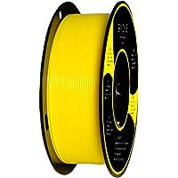 Filamento PLA 1.75mm, Eryone PLA Filamento de PLA para Impresión 3D, 1kg 1 Spool, Amarillo