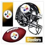 "NFL Pittsburgh Steelers ""4-Piece"" 3D Multi-Magnet"