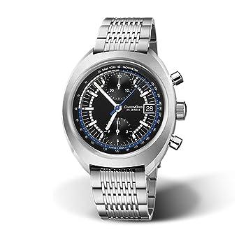 Oris chronoris Cronógrafo Automático Negro Dial Mens Reloj 01 673 7739 4084-set MB: Amazon.es: Relojes