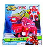 Super Wings - Jett's Robo Rig, Transforming Toy
