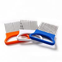 Sunlera Vegetable Fruit Beef Onion Slicer Cutting Holder Slicing Cutter Stainless Steel Meat Needle