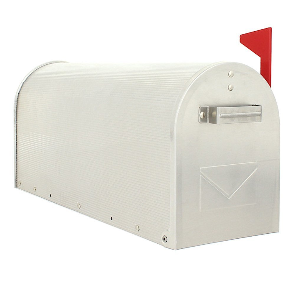 Aluminum US Silver Post Box Pro First 630 Mailbox PROFIRST