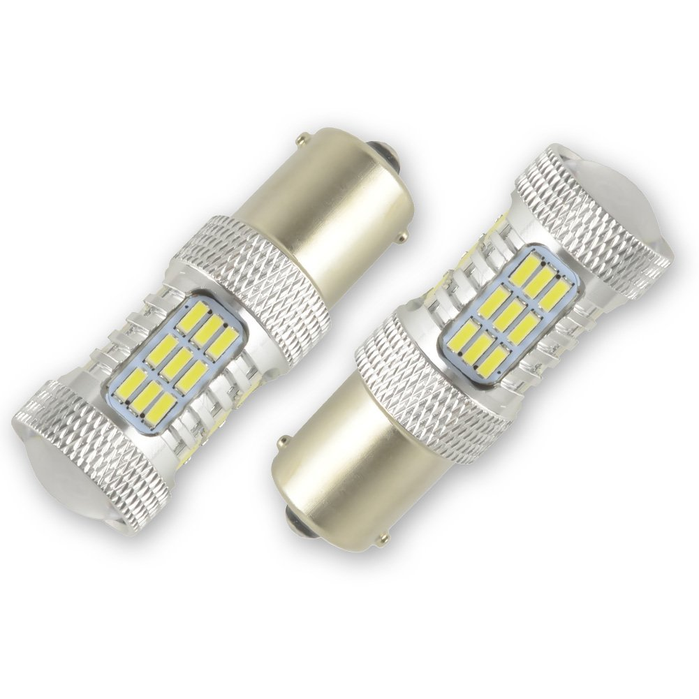 T10 W5W Led Car Light Safego 4pcs 168 194 LED Bulb Wedge For Car Interior Light License Plate Out Door Light Pure White 15SMD 4014 Lamp 6000K CBT10-15D-4014B-W-4