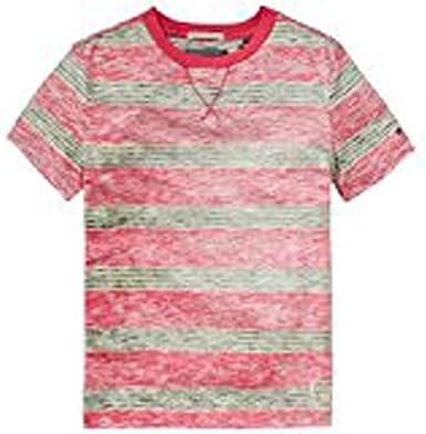 Tommy Hilfiger niño T-Shirt Silverton Stripe E57129196: Amazon.es: Ropa y accesorios