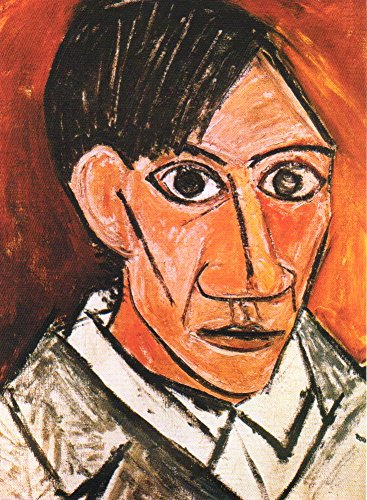 PABLO PICASSO - GREAT ART MASTER PIECES FOR ALL AGES - 8 BLANK NOTE GREETING CARDS {jg} ()