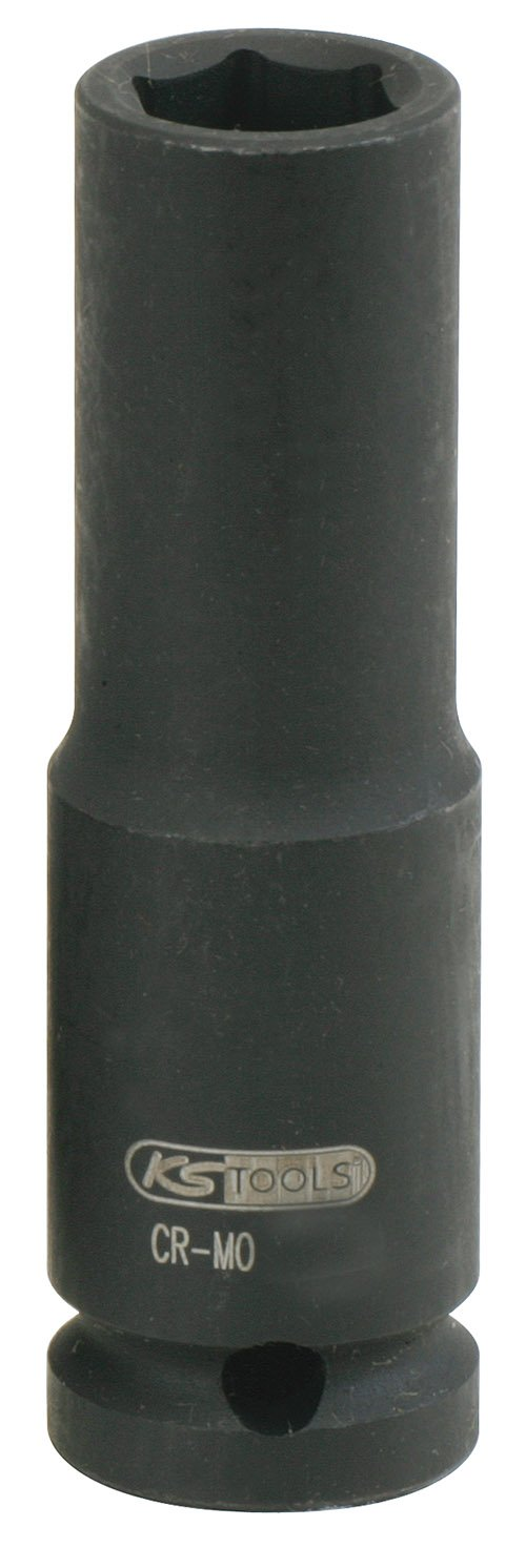 KS Tools 515.1118 Impact Socket, Deep, 1/2-Inch, 18mm by KS Tools