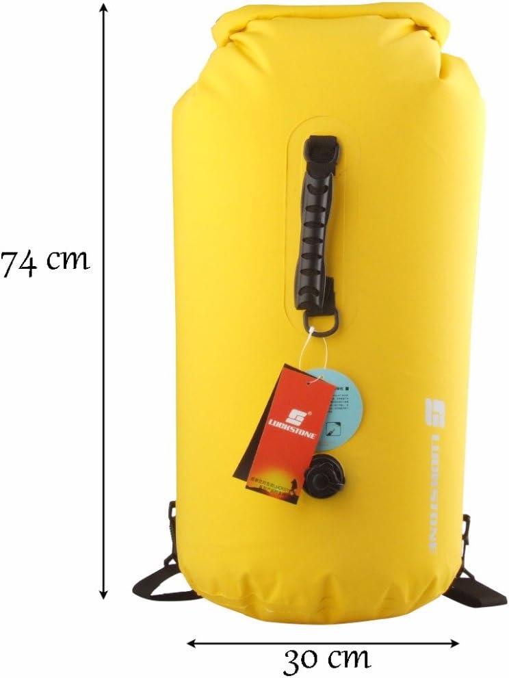 60/leicht aufblasbar faltbar Wasserdichter Roll-Top Dry Bag Rucksack f/ür Strand, Wandern, Kajakfahren, Angeln, Camping und andere Outdoor-Aktivit/äten gossipboy