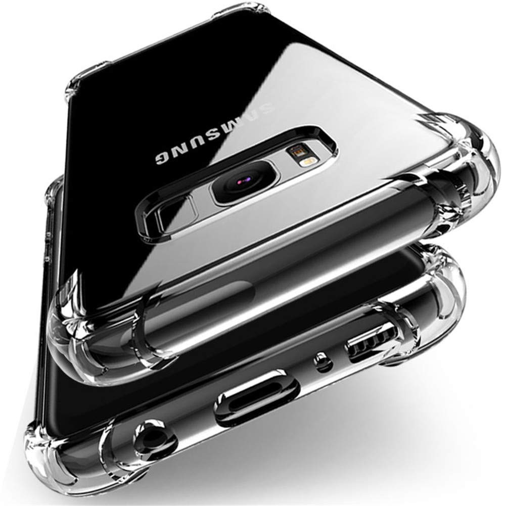 Amazon.com: Shockproof Clear Silicone Case for Samsung ...