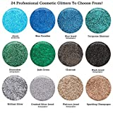 GLITTIES - Brilliant Silver - Cosmetic Grade