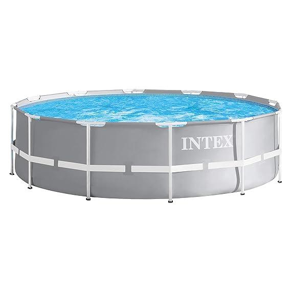 Intex 28904 - Marco de metal para piscina, 366 x 122 cm: Amazon.es: Jardín