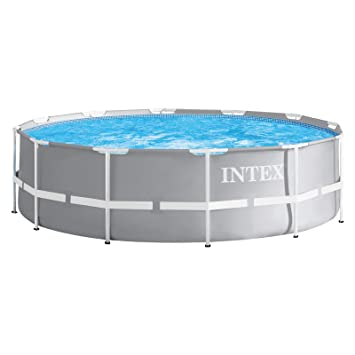 Intex 28904 - Marco de metal para piscina, 366 x 122 cm: Amazon.es: Jardín