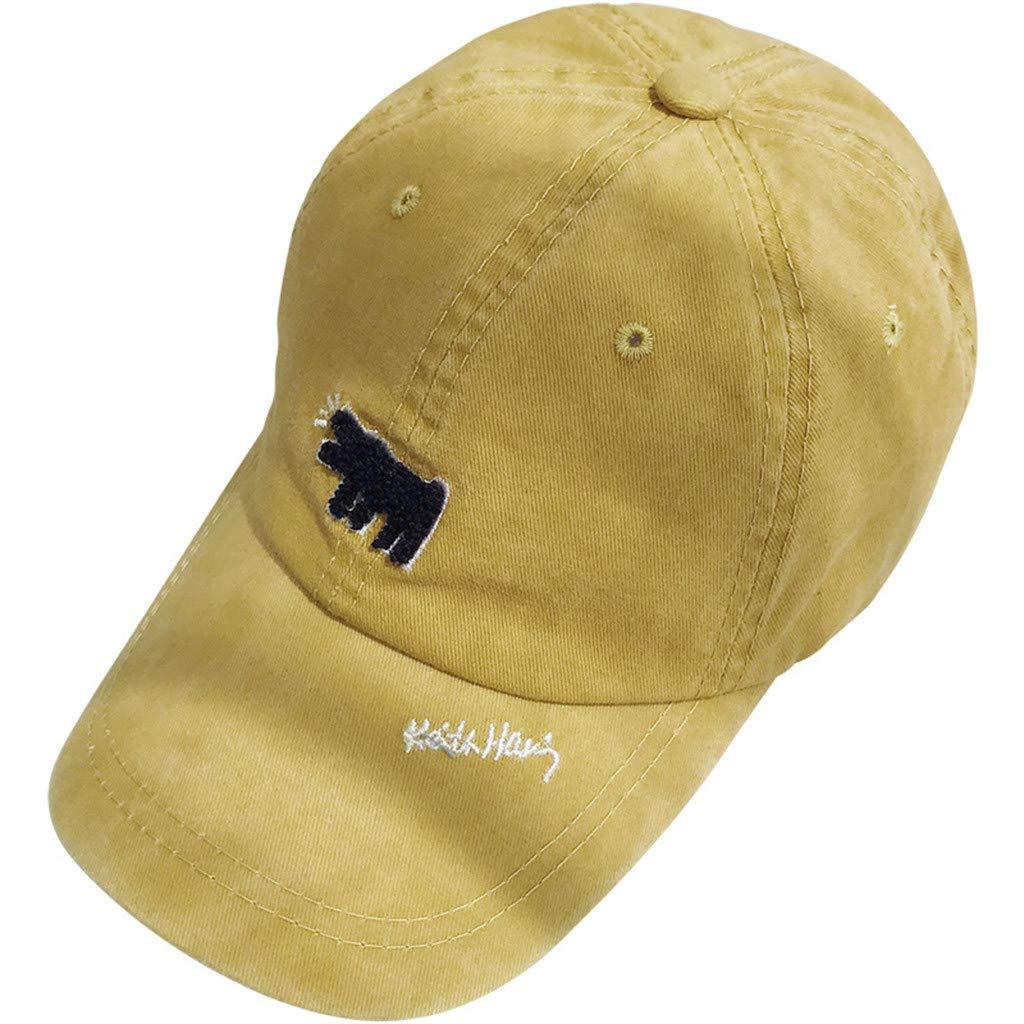 Baseball Caps Printed Dog Mens Women Sun hat Unisex Peak Caps Summer Beach hat
