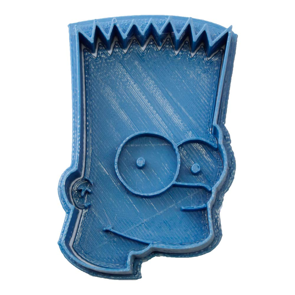 Cuticuter Los Simpsons Bart Cortador de Galletas, Azul, 8x7x1.5 cmhttps://amzn.to/2Ihsbtz