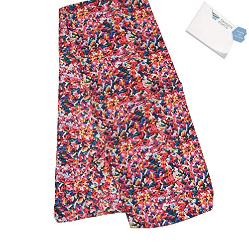 - Bargain World Sprinkle Scarf (With Sticky Notes)