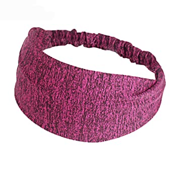 Amazon.com   Women Elastic Turban Head Wrap Lightweight Working out  Headband Hair Band (Pink)   Beauty 641e041942