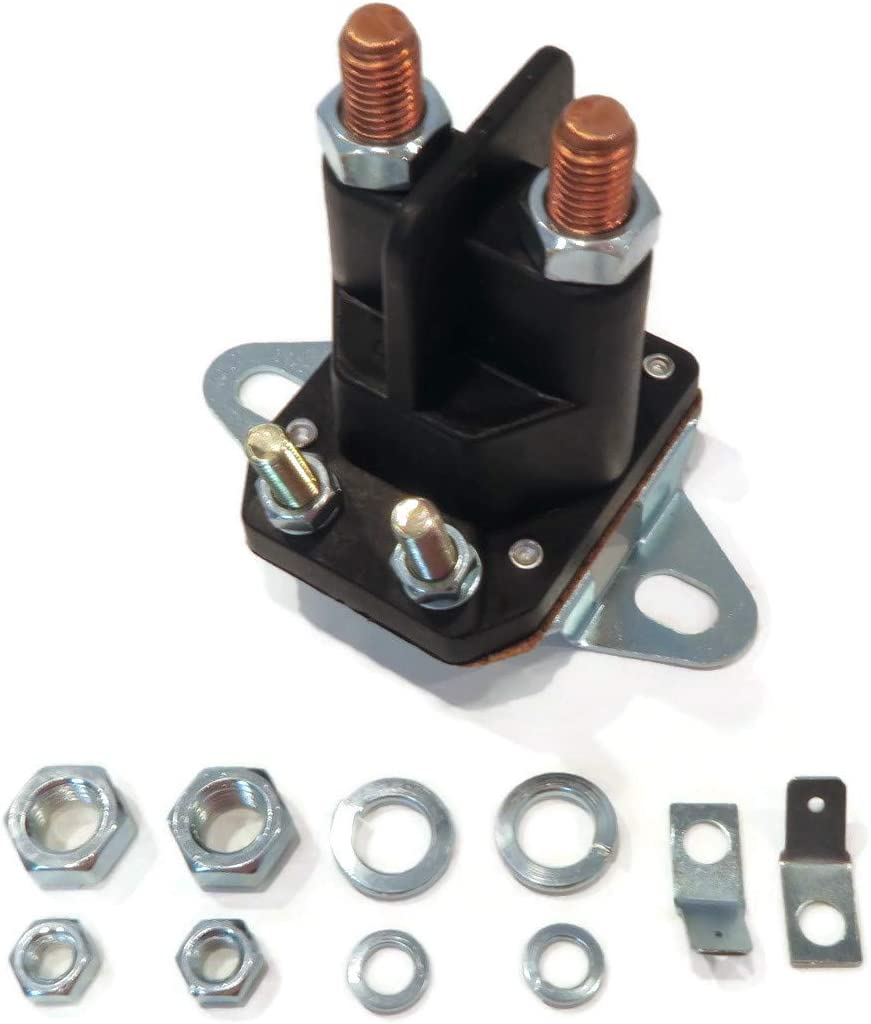 The ROP Shop 4 Post/Pole Universal 12 Volt Starter Solenoid for Rider Lawn Mower & Tractor