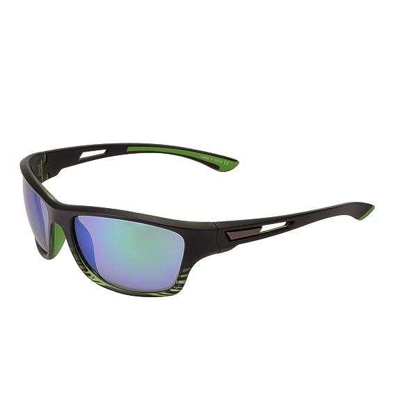Lunettes de Soleil Sport Miroir pour Cyclisme Courir Pêche Golf Randonnée Antidérapant Branche Caoutchouc Vert u5utBwjkK
