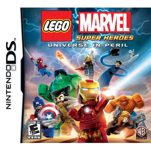 Lego Marvel Super Heroes: Universe in Peril - Nintendo DS (New Nintendo 2ds Xl Vs New 3ds Xl)