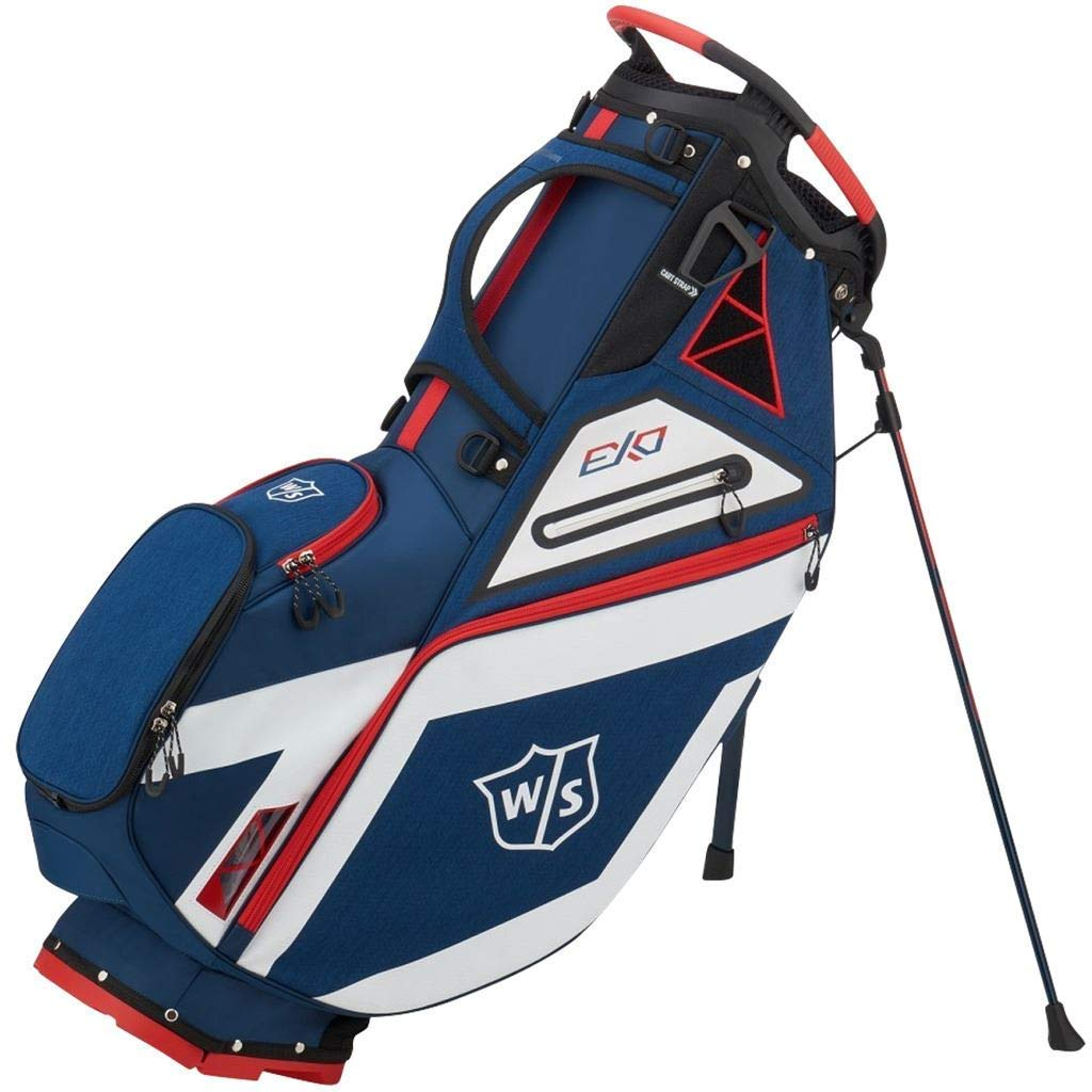 Wilson Staff EXO Carry Golf Bag: Amazon.es: Deportes y aire ...