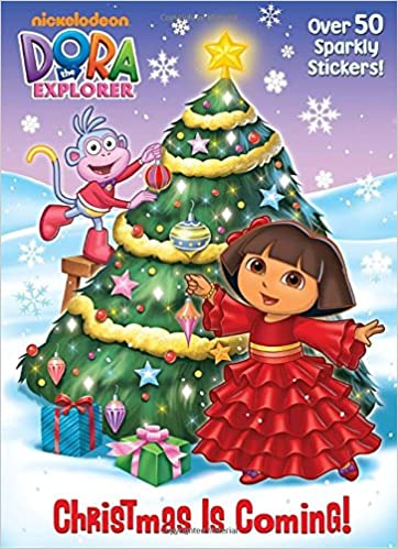 Christmas is Coming Dora the Explorer Golden Books Warner McGee