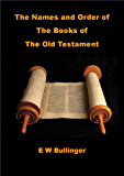 The Names and Order of the Books of the Old Testament
