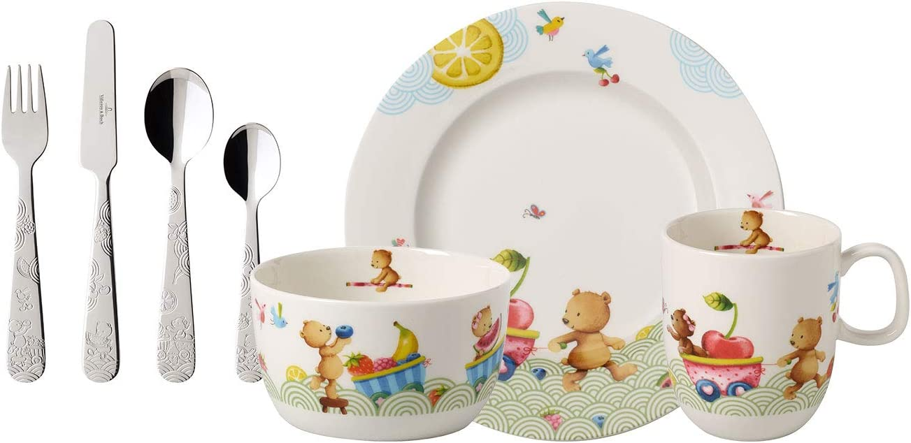 Villeroy & Boch Hungry as a Bear Vajilla infantil, 7 piezas ...