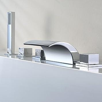 Réduction pour Prime Day: KINSE® Design Robinet de Lavabo Cascade ...